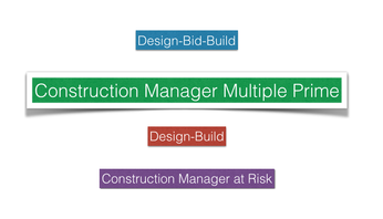 VCMG-US Construction Manager Multiple Prime
